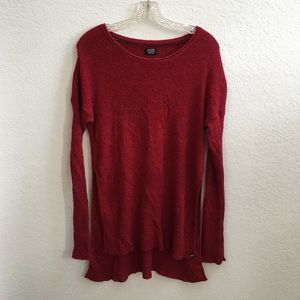 Volcom Scarlet Tunic Sweater Size Small